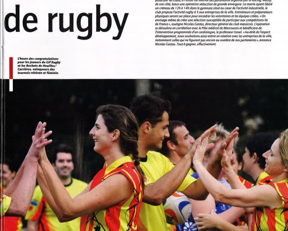 Article Rugby Mag