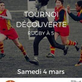 Tournoi découverte de rugby à 5