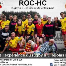 Venez découvrir le rugby à 5 !!