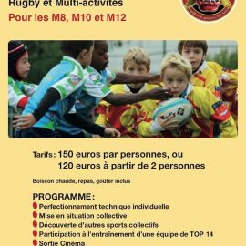 Stage de Rugby à Houilles !!