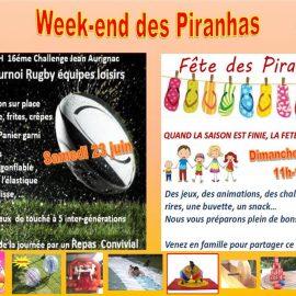 J-3 avant la grande fête des Piranhas !
